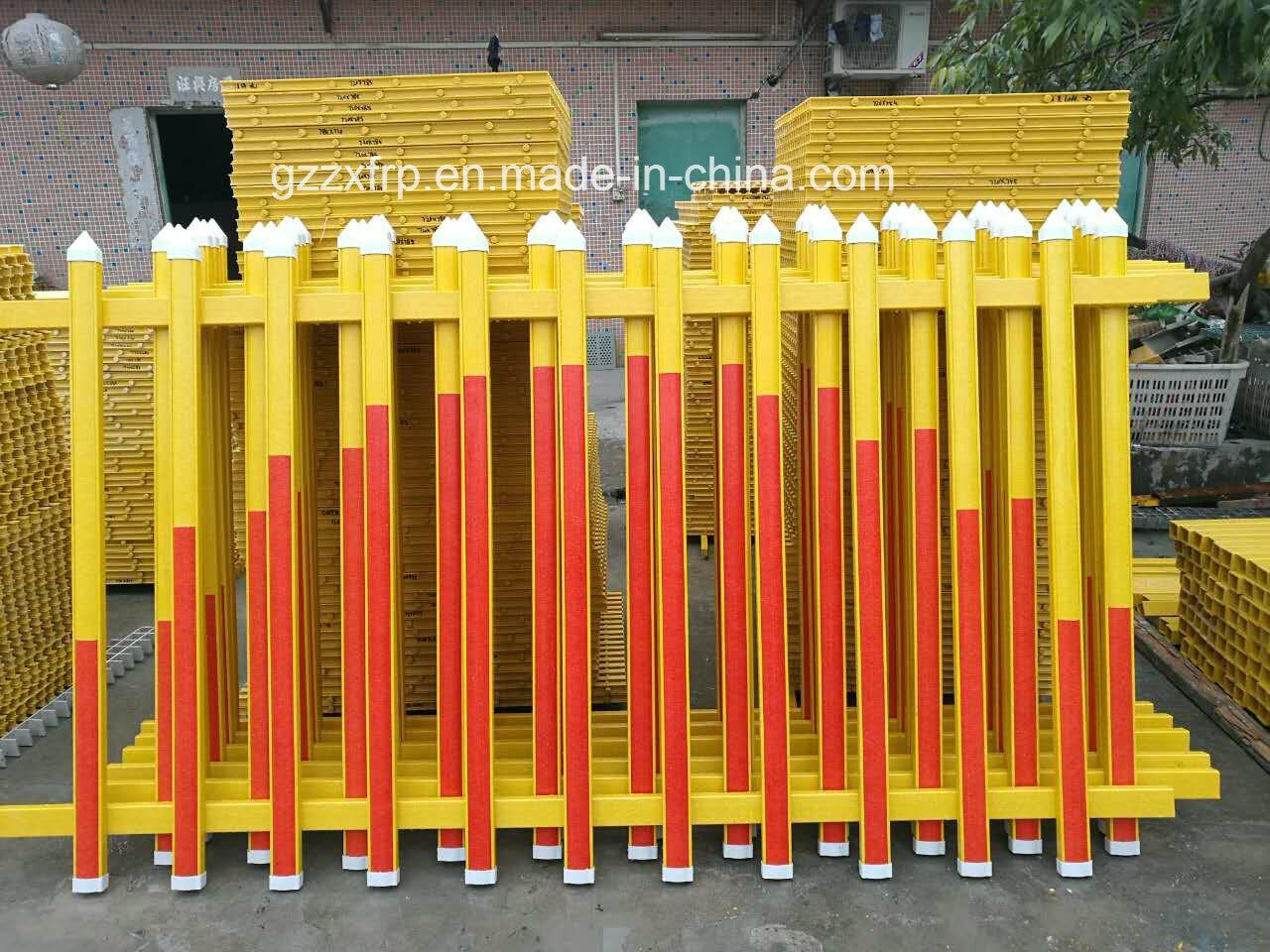 FRP/Fiberglass Safety Fence