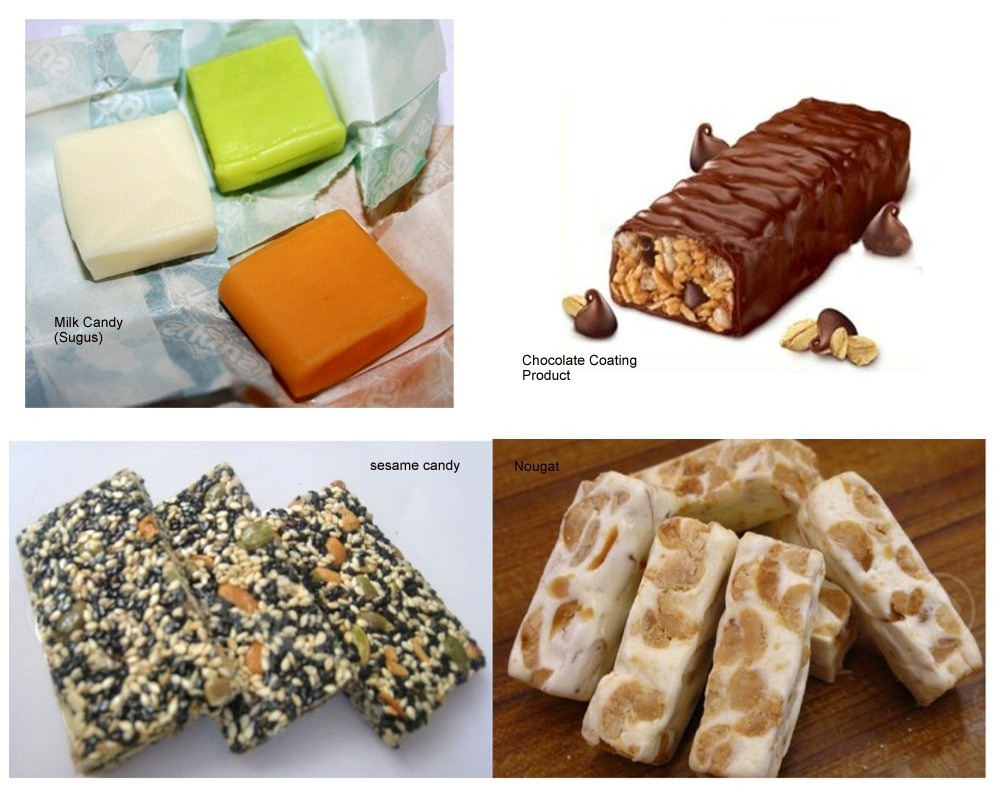 Semi-Automatic Nougat, Milk Candy, Sugus, Square Shape Candy Machine