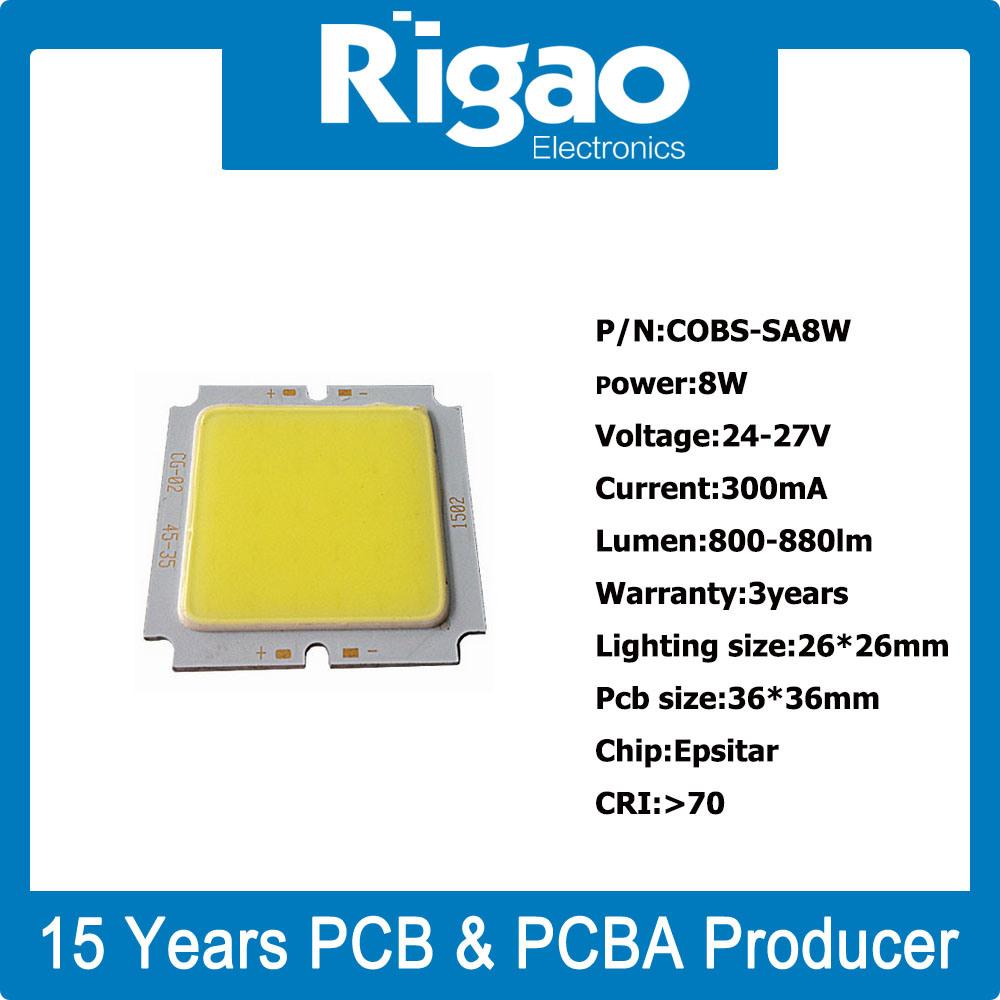 Square COB LED PCB for LED Downlight
