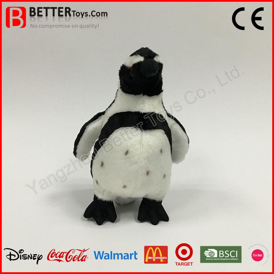 Realistic Stuffed Penguin Lifelike Plush Toy