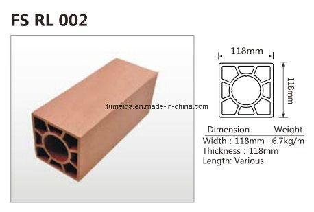 Eco -Friendly Anti-UV WPC Fencing & Railing K-Rl-03