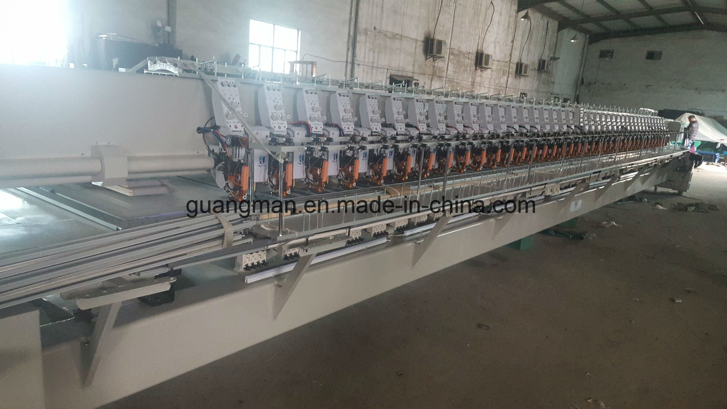 Hye-Mc340+440/250*550*1500 Flat. Chenile. Easy Cording Mix Function Embroidery Machine
