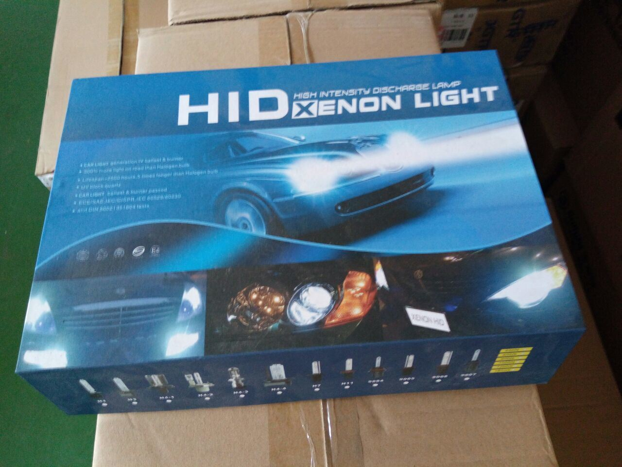New Generation High Power Single Beam and High-Low Beam Automotive LED Lights Replace HID Xenon