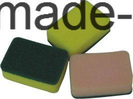 2017abrasive Scouring Pad, Sponge Scourer