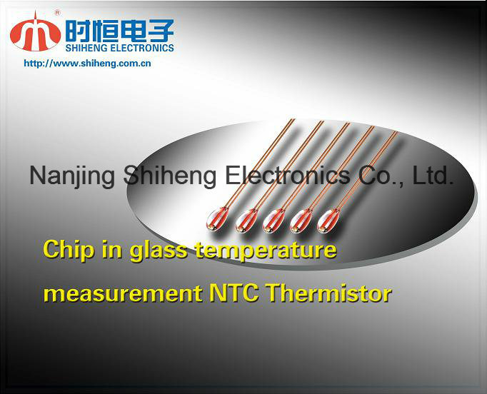 Tempmeasurement Chip in Glass Ntc Thermistor