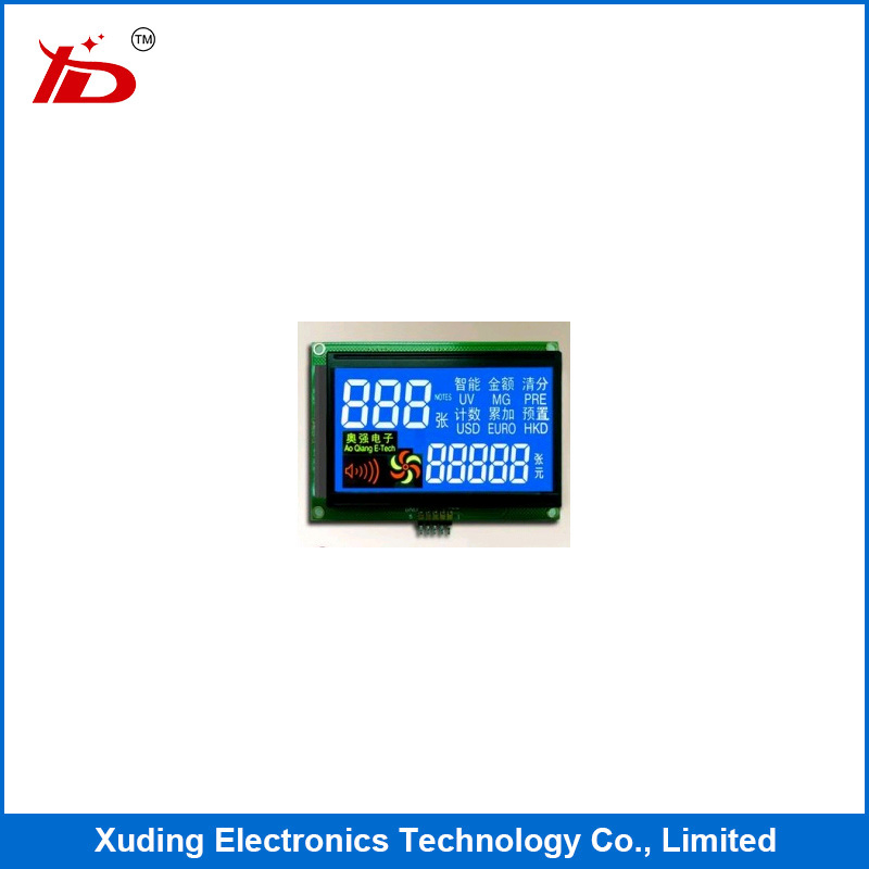 COB Monochrome Graphic Industrial Control LCD Display Graphic LCM