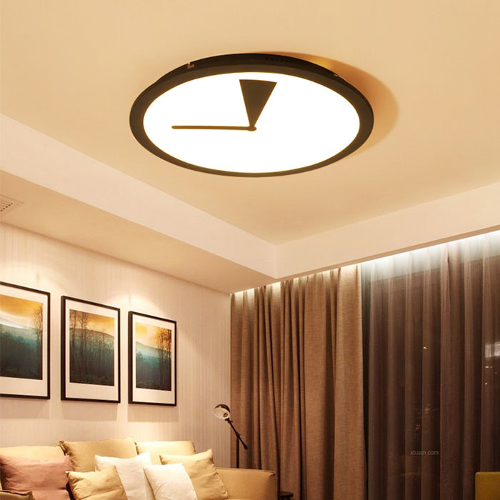 24W 32W 38W Round Unique Modern Flush Mount Lighting Fixtures LED Ceiling Lamp Lights for Living Room/ Bedroom
