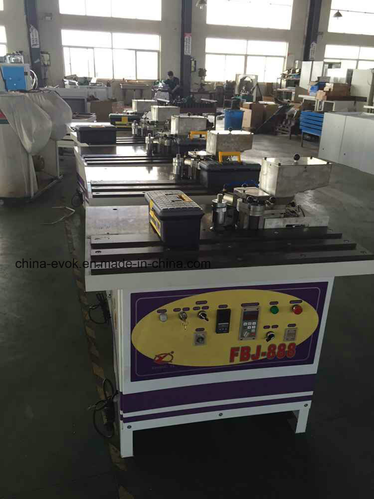 New Type Double-Face Gluing Curved&Straight Edge Banding Machine Fbj-888