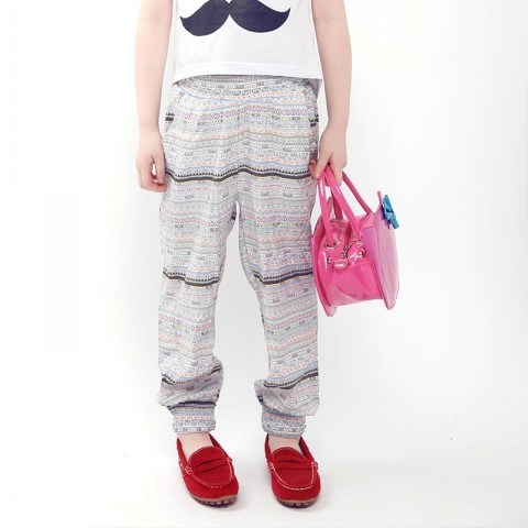 Girls Pants Trousters Long Straight Style Summer Apparel