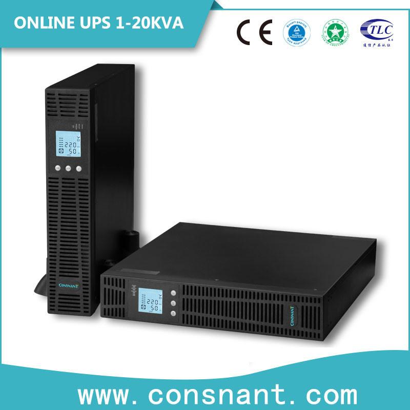 1-10kVA Rack Mount Online UPS with Power Factor 0.9
