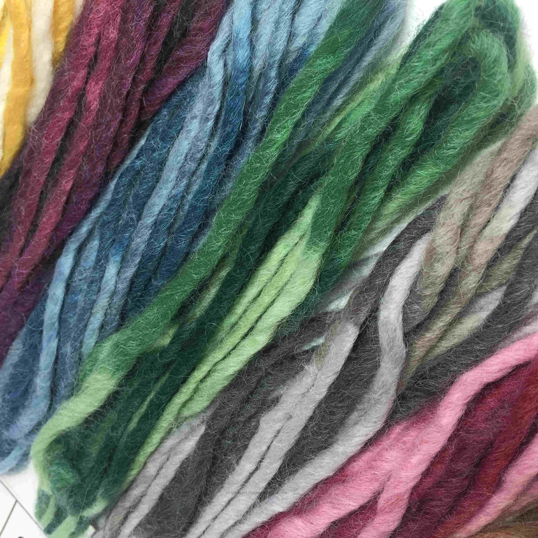 Harmony, Handknitting Yarn, Roving Yarn, Acrylic/Wool, Winter Yarn, (JD-8044)