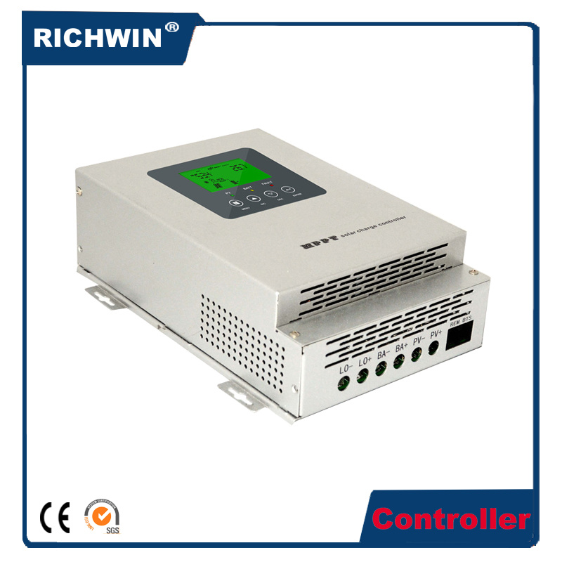 45/60/80A Intelligent LCD MPPT Solar Charge Controller