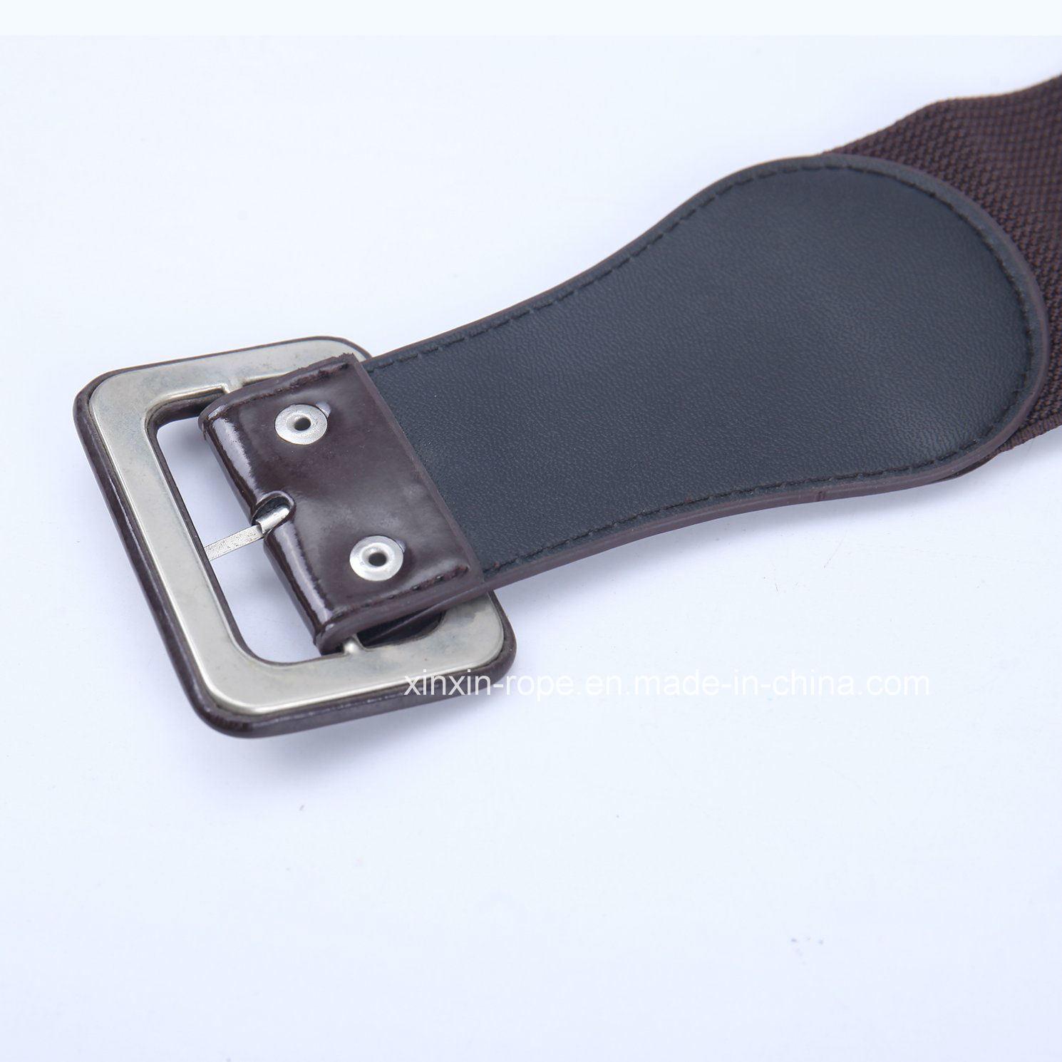 Elastic Casual PU Leather Dressing Decor Lady Women Belt