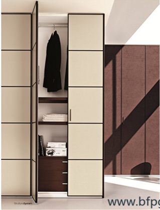 Customized Hinged Door Wardrobes Bedroom Furniture