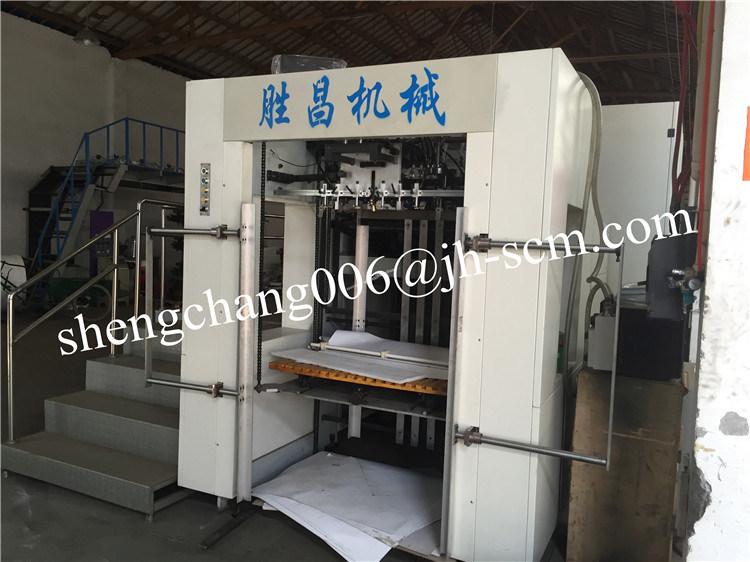 Sheet to Sheet Paper Embossing Machine