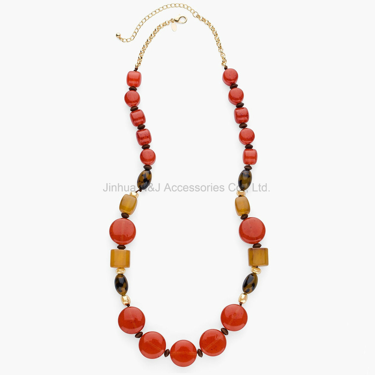 Colourful Beads Choker Vintage Pendants Statement Necklaces & Pendants Long Necklace Women Jewelry