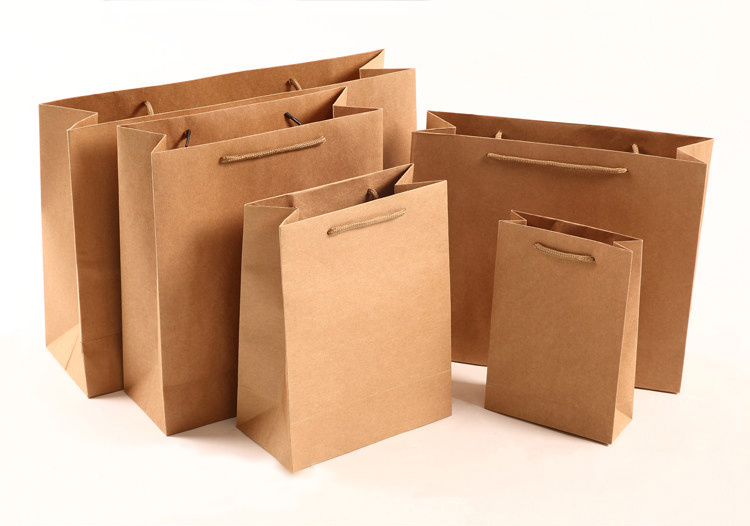 Custom Kraft Paper Bag Custom Gift Paper Bag Printing