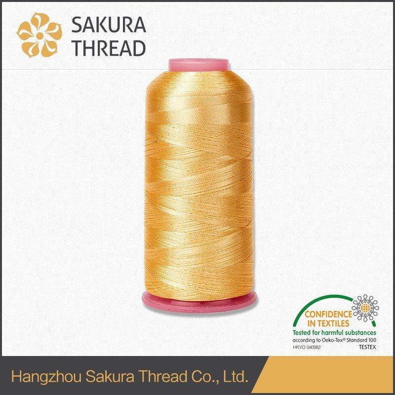 Oeko-Tex 100 High Tenacity Rayon Embroidery Thread 120d/2 China Supplier