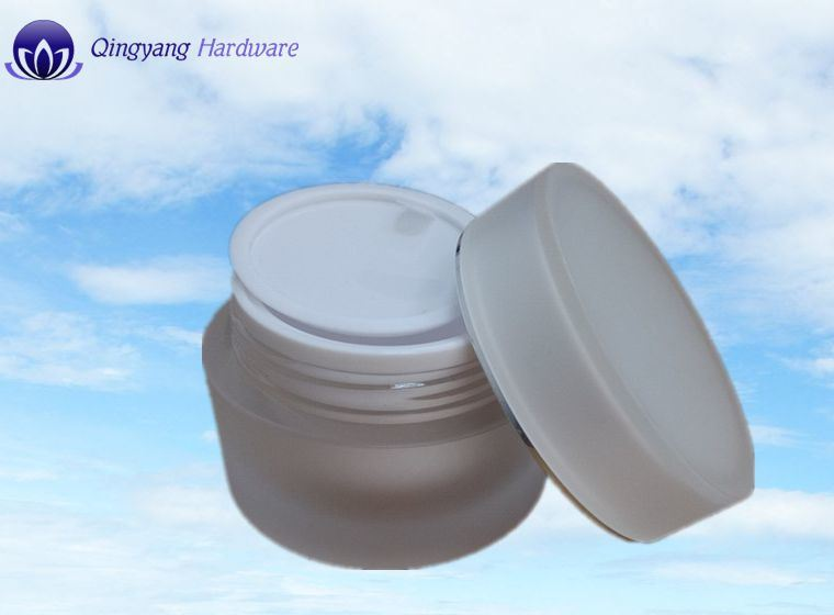 15/30/50g Frosted Acrylic Jar for Cosmetic