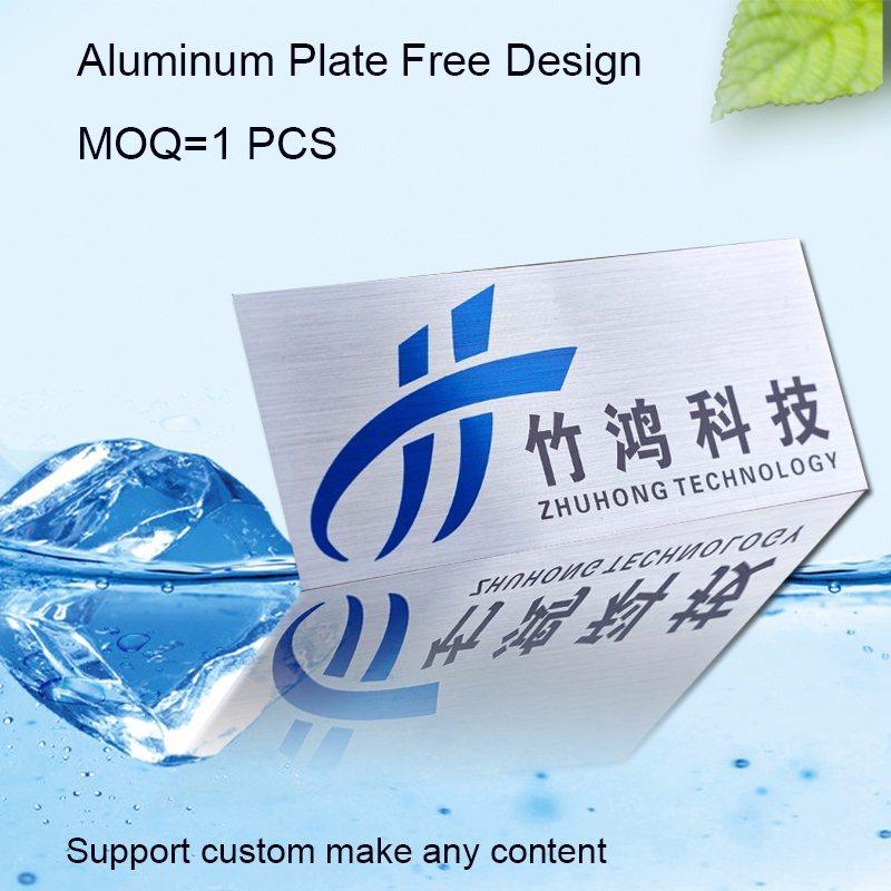 High Quality Company Name Tag Customized