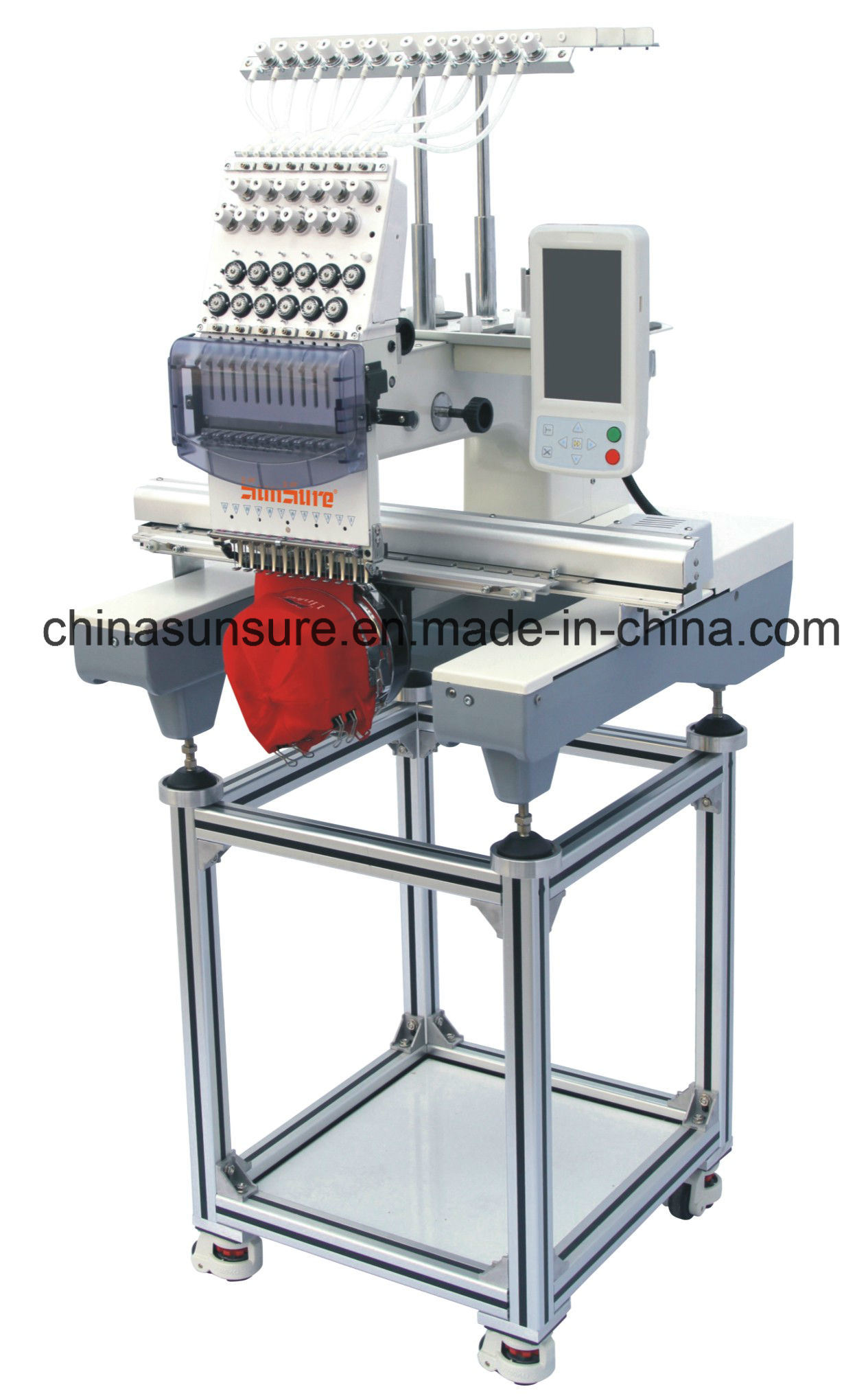 Single Head Embroidery Machine for T-Shirt