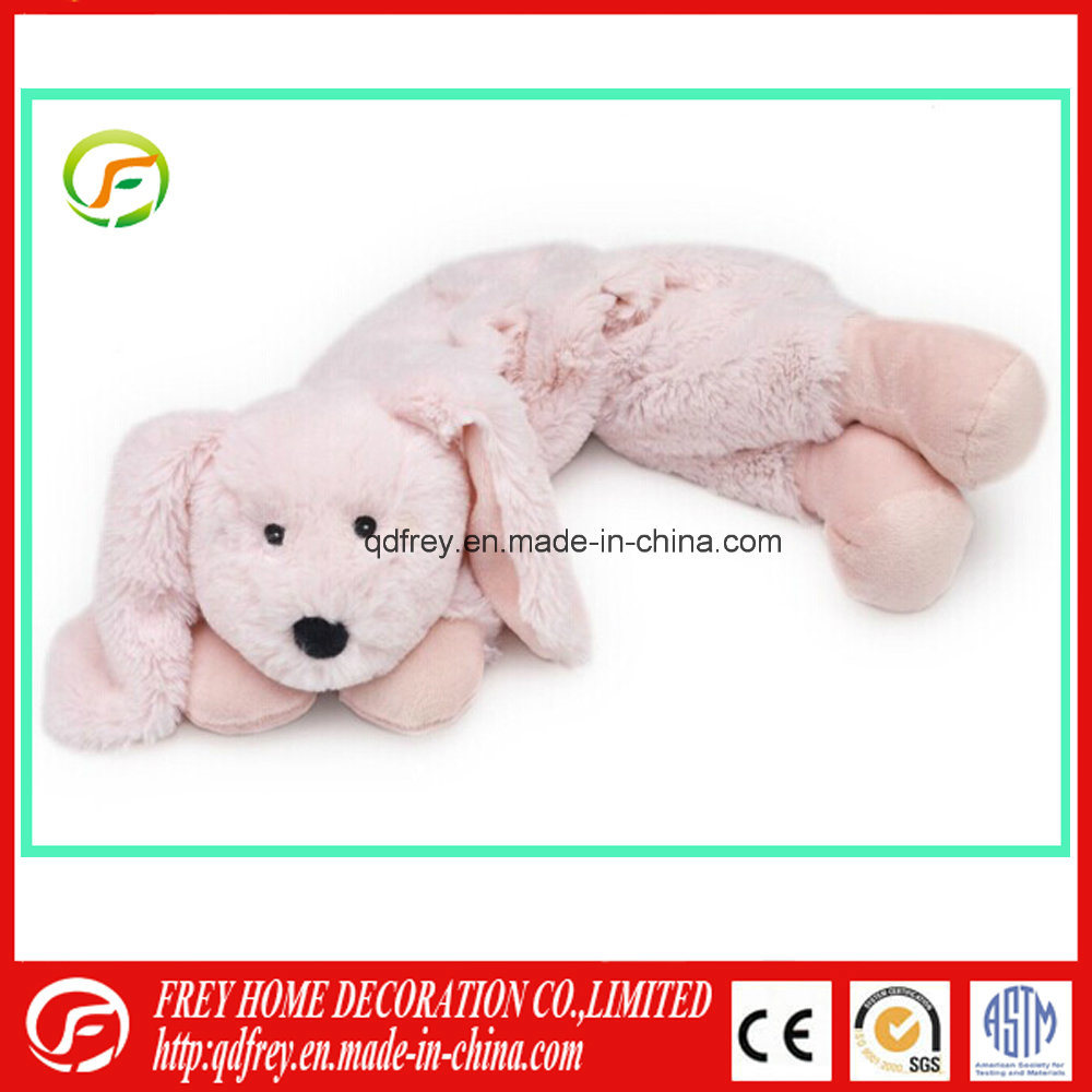 Microwaveable Heated Plush Lavender Dog Toy