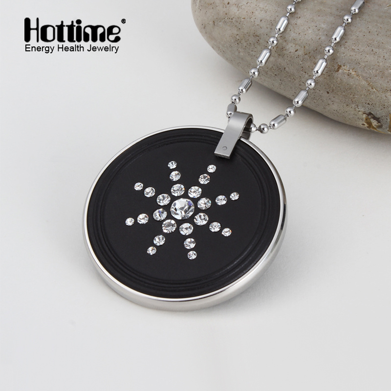 High Ion Quantum Lava Pendant with Stainless Steel Protector (30005)