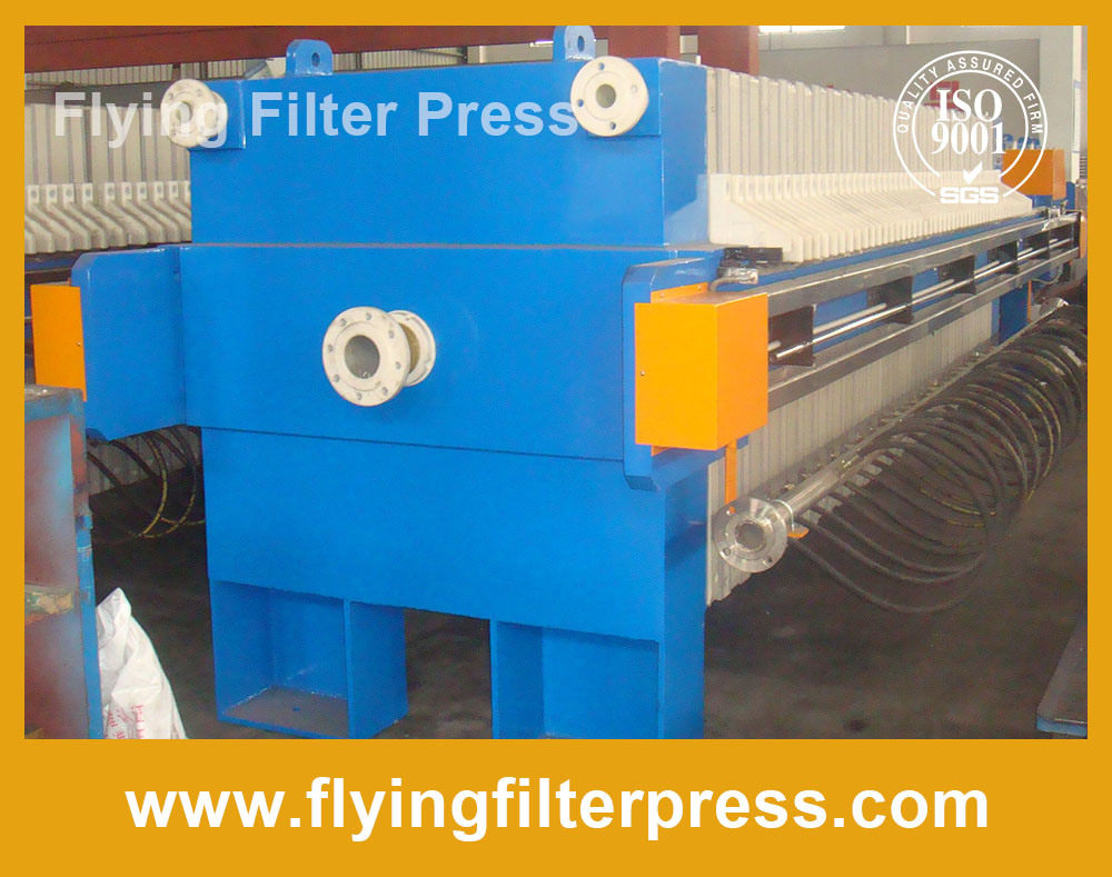 Sludge Dewatering Filter Press X1000