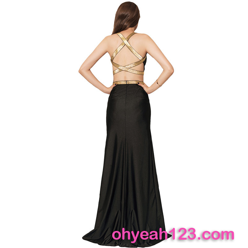 Deluxe Back Crisscross Sexy Fashion Lady Dress