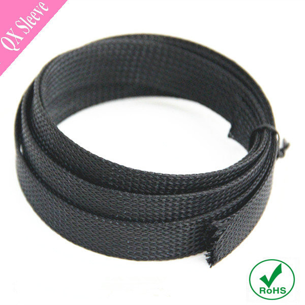 Flexo Black Expandable Nylon Braided Sleeve for Wiring Harness china flexo black expandable nylon braided sleeve for wiring nylon wiring harness at panicattacktreatment.co