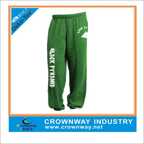 Polyester & Cotton Jogger Sweatpants Sweatpants with Logo