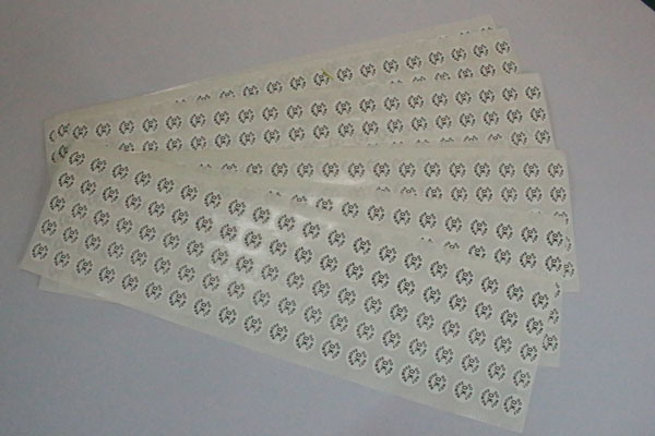Pirnted Paper Adhesive Sticker PVC Self-Adhesive Label (Z036)