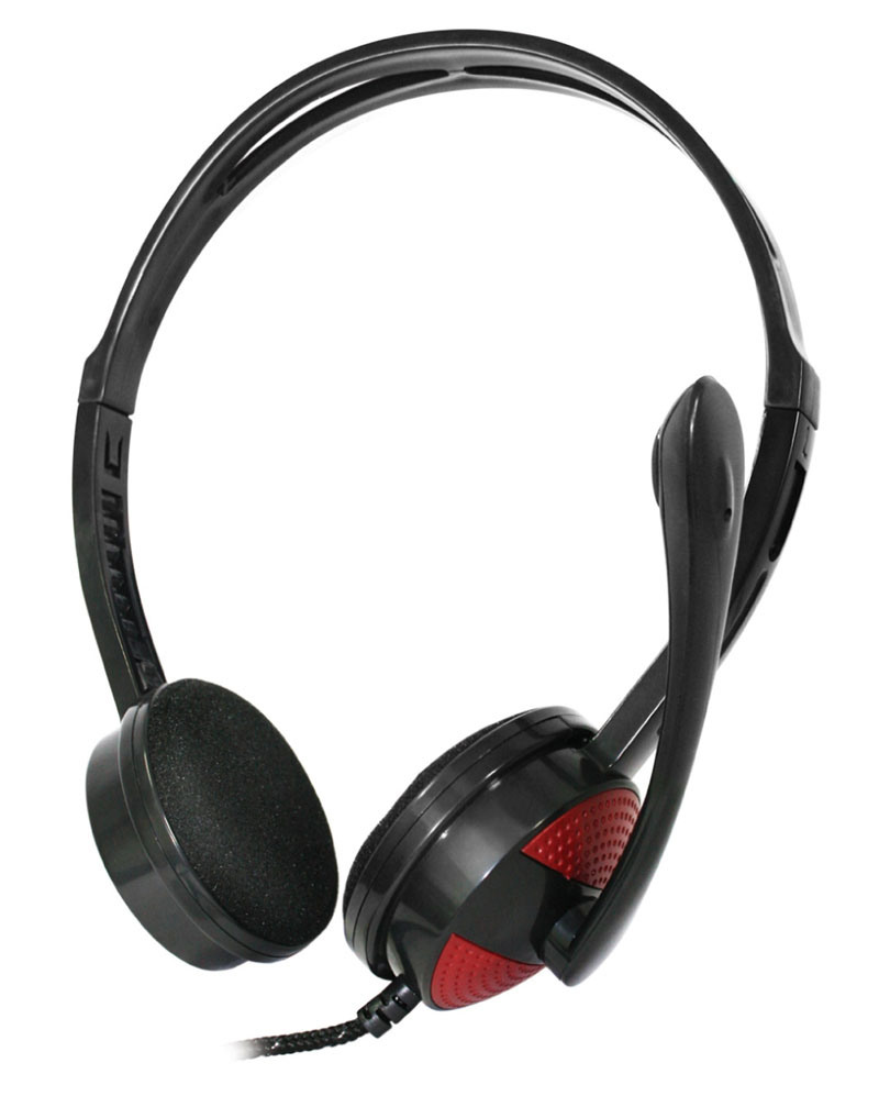 China New Cool Durable Computer Headphones with Extra Mic ...