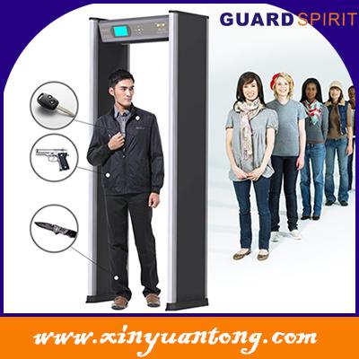 Security 24 Zones Walk Through Metal Detector (XYT2101LCD)