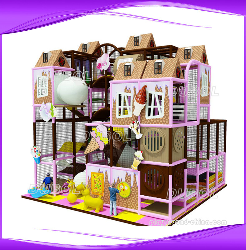 China mich colorful lldpe plastic kids indoor playground for Indoor gym equipment for preschool