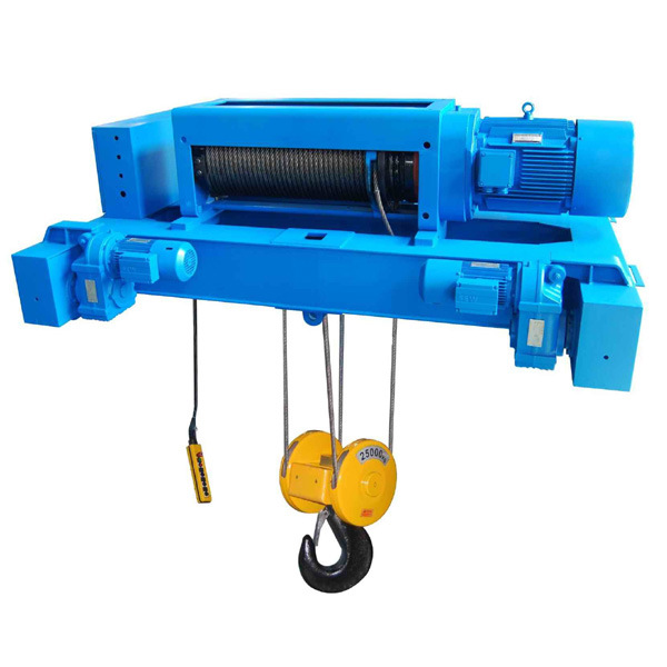 China Double Rail Type Electric Hoist Trolley China
