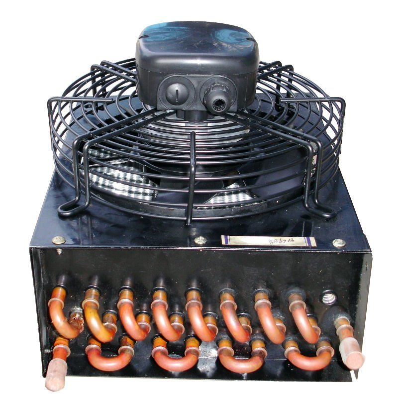 1/3 HP Refrigeration Air Cooler Copper Tube Condenser Coil