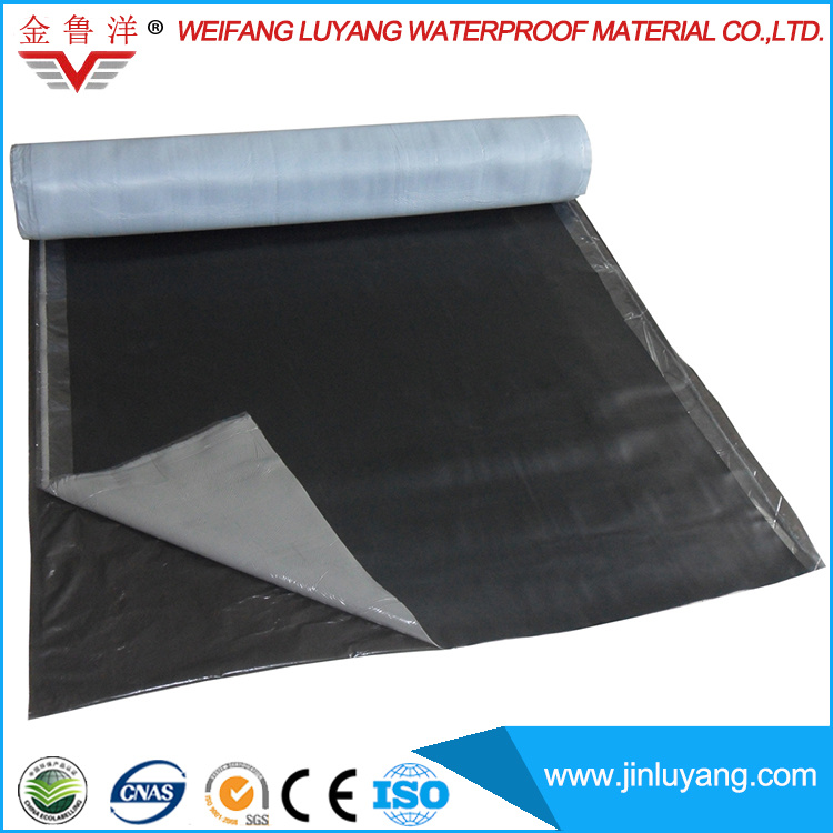China Supply Self Adhesive Sbs Modified Bitumen Waterproof Roofing Membrane
