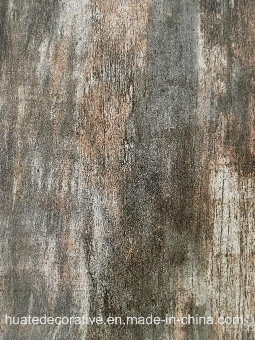 4 Cylinders Fantastic Design Wood Grain Decorative Printing Paper, Melamine Paper for Furniture