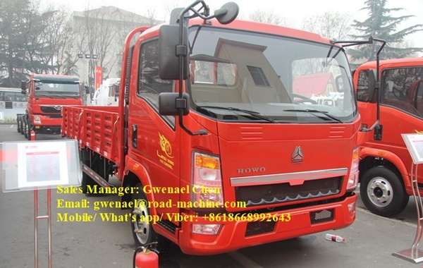 Sinotruk HOWO 4 Ton Small Light Truck with Isuzu Engine