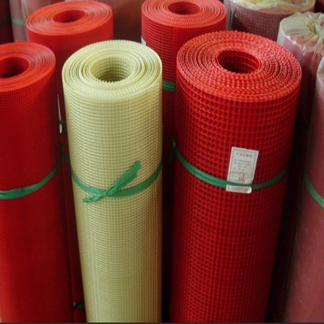 Plain and Neat Appearance Fiberglass Mesh