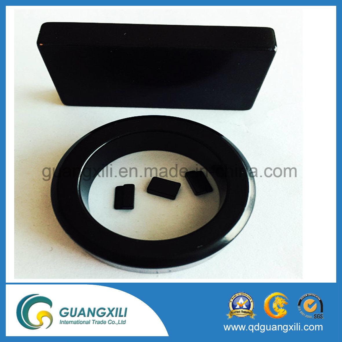 NdFeB Teflon PTFE Ring Magnet Permanent Neodymium