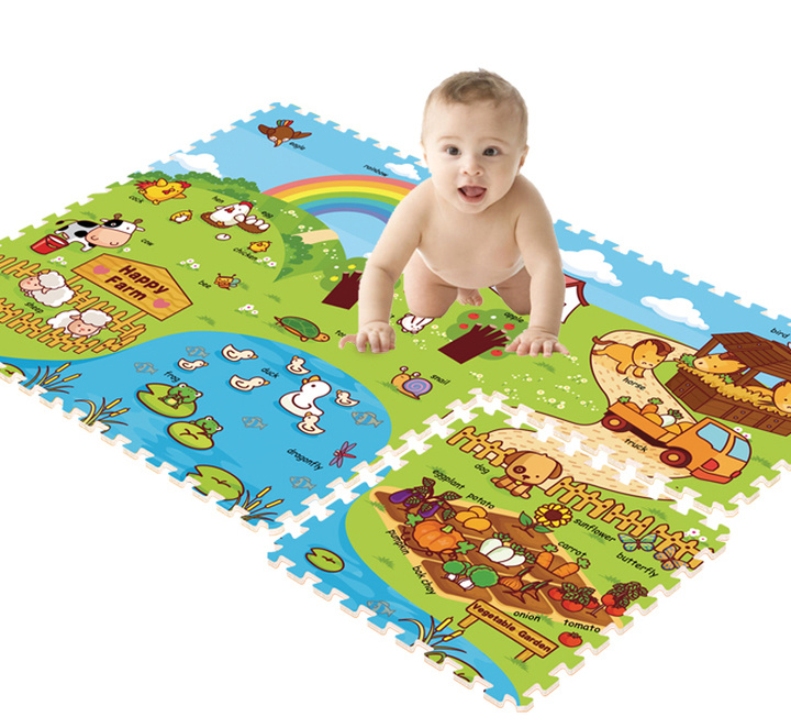 Baby Crawling Play Mat Children Carpet Child Developing Mat Children Carpet Game Pad