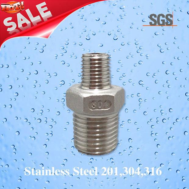 Stainless Steel Casting Male Threaded Nipple, Stainless Steel Nipple