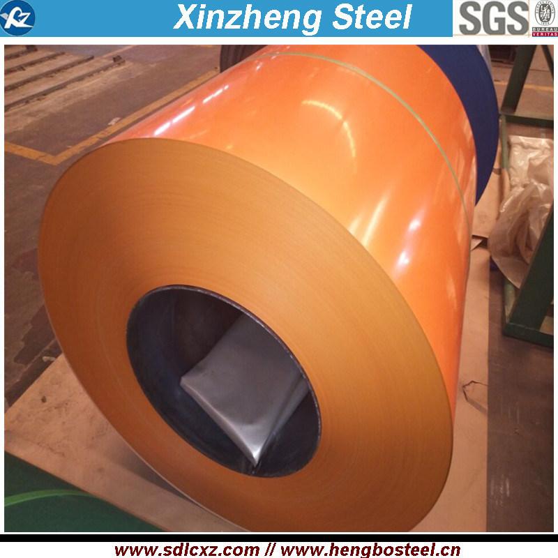 Building Material 0.14mm-1.5mm PPGI Galvanized Steel Coil
