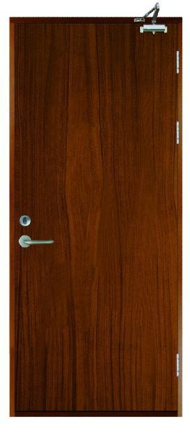 Wooden Fire Door with Bm Trada and UL Certificate 90mins, 120mins, Fire Rating Safety Door, Solid Wood Door, Fire Door