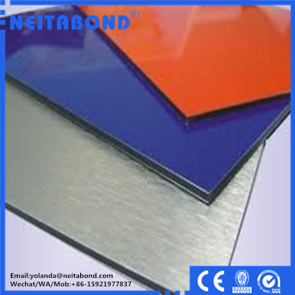 20 Years Guarantee 4mm PVDF Aluminium Composite Panel for Outside