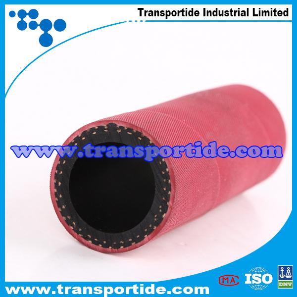 Transportide Red High Quality Rubber Sand Blast Hose / Sandblasting Hoses
