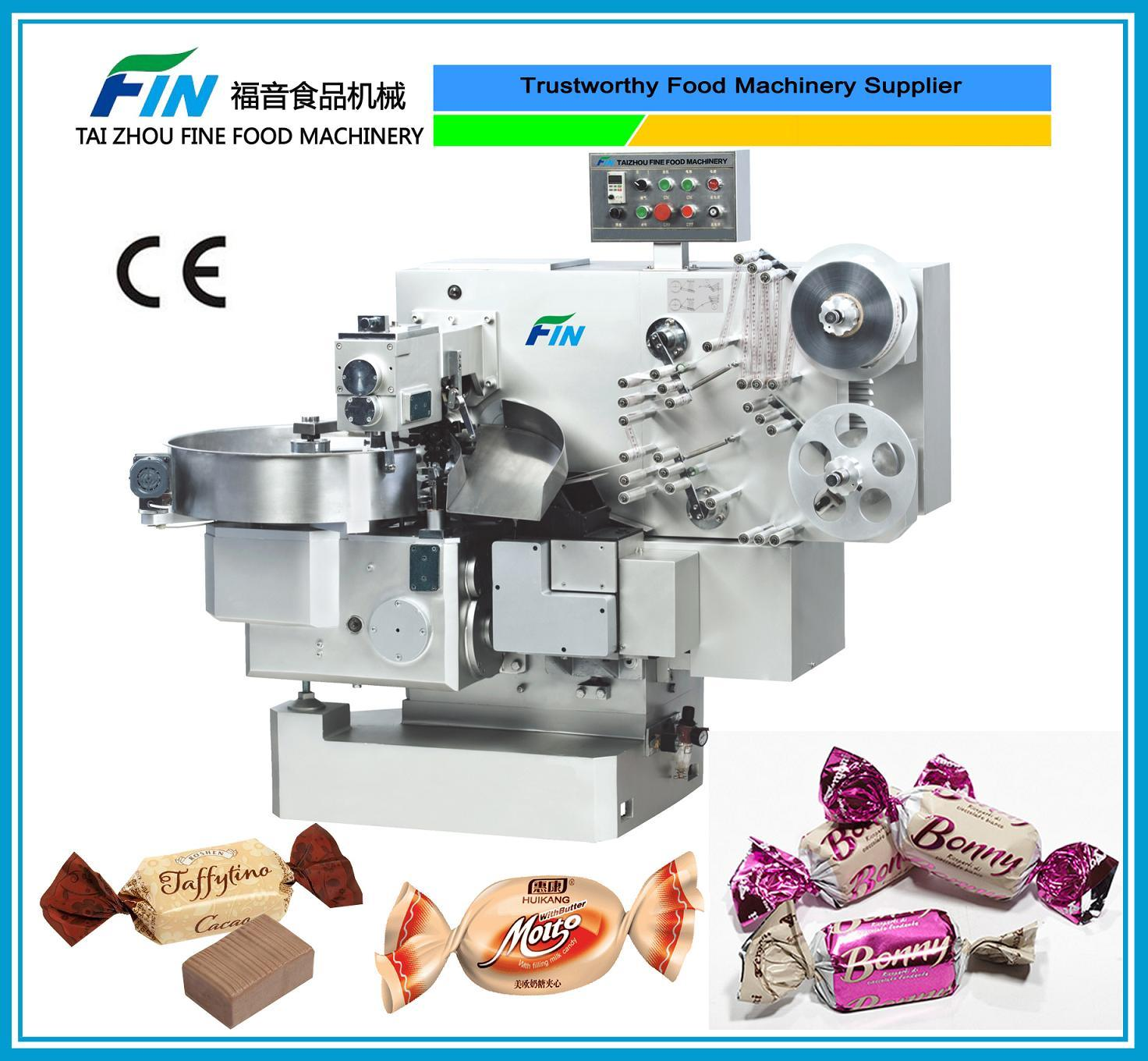 Granule Chocolate Double Twist Type Candy Packing Machine (FS-800)