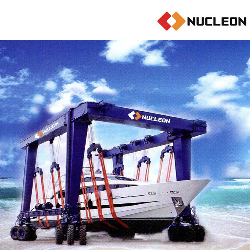 Nucleon Mobile Boat Lifting Machine Capacity 500 Ton